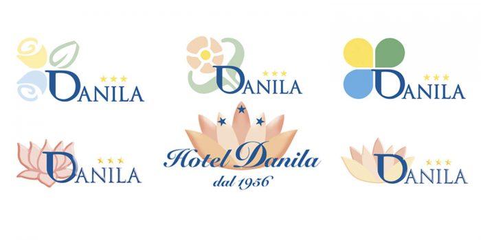 Creazione logo Hotel Danila Isola d'Elba
