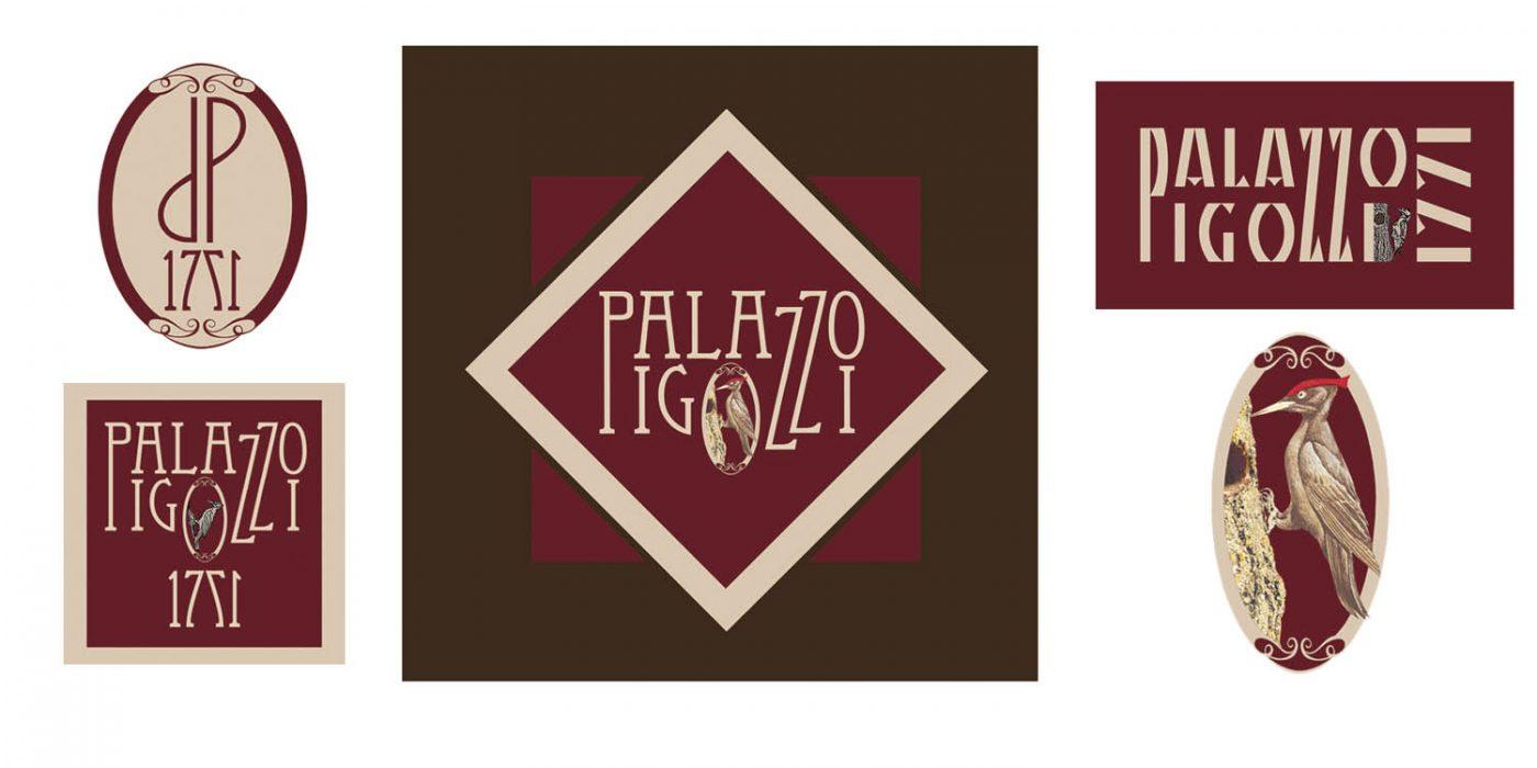 Creazione logo Palazzo Pigozzi