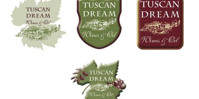 Creazione logo Tuscan Dream Wines Oil
