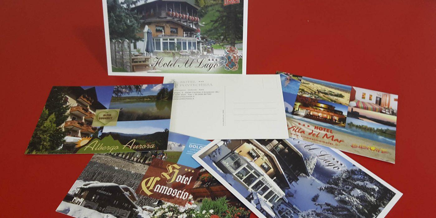 realizzazione cartoline turistiche