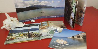 Realizzazione Depliant Hotel Danila Isola d'Elba