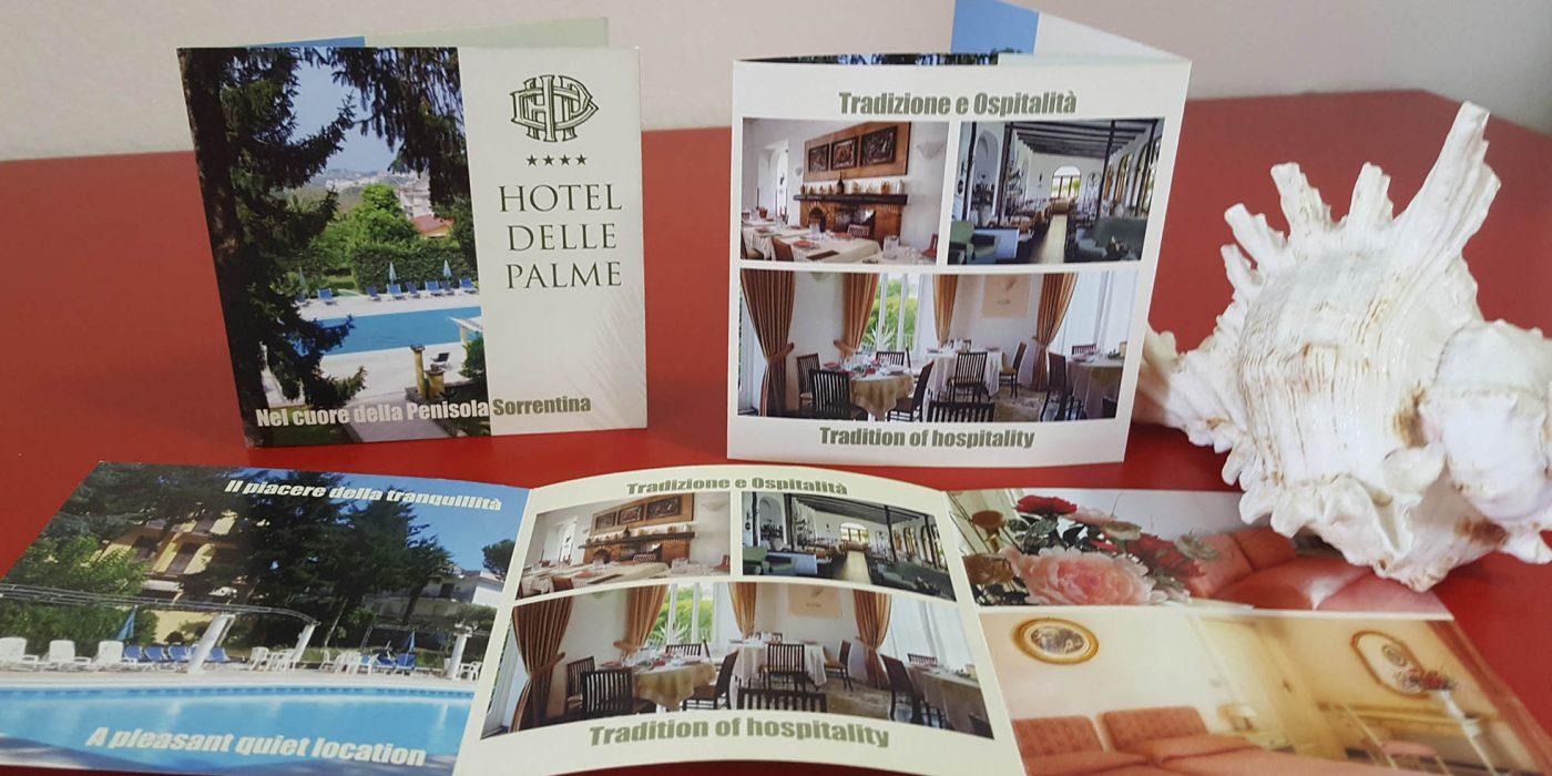 Realizzazione depliant Hotel delle Palme