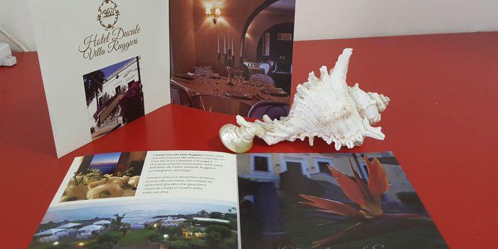 Realizzazione depliant Hotel Ducale Diamante