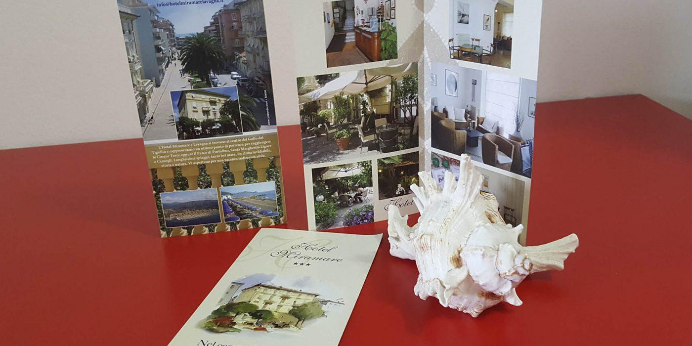Realizzazione depliant Hotel Miramare Lavagna