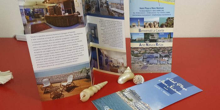 Realizzazione Depliant Hotel Playa Caorle