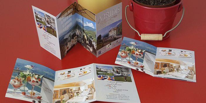 Realizzazione depliant Hotel Viridis Trento