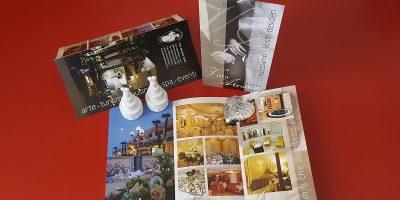 Realizzazione depliant Villa Afrodite