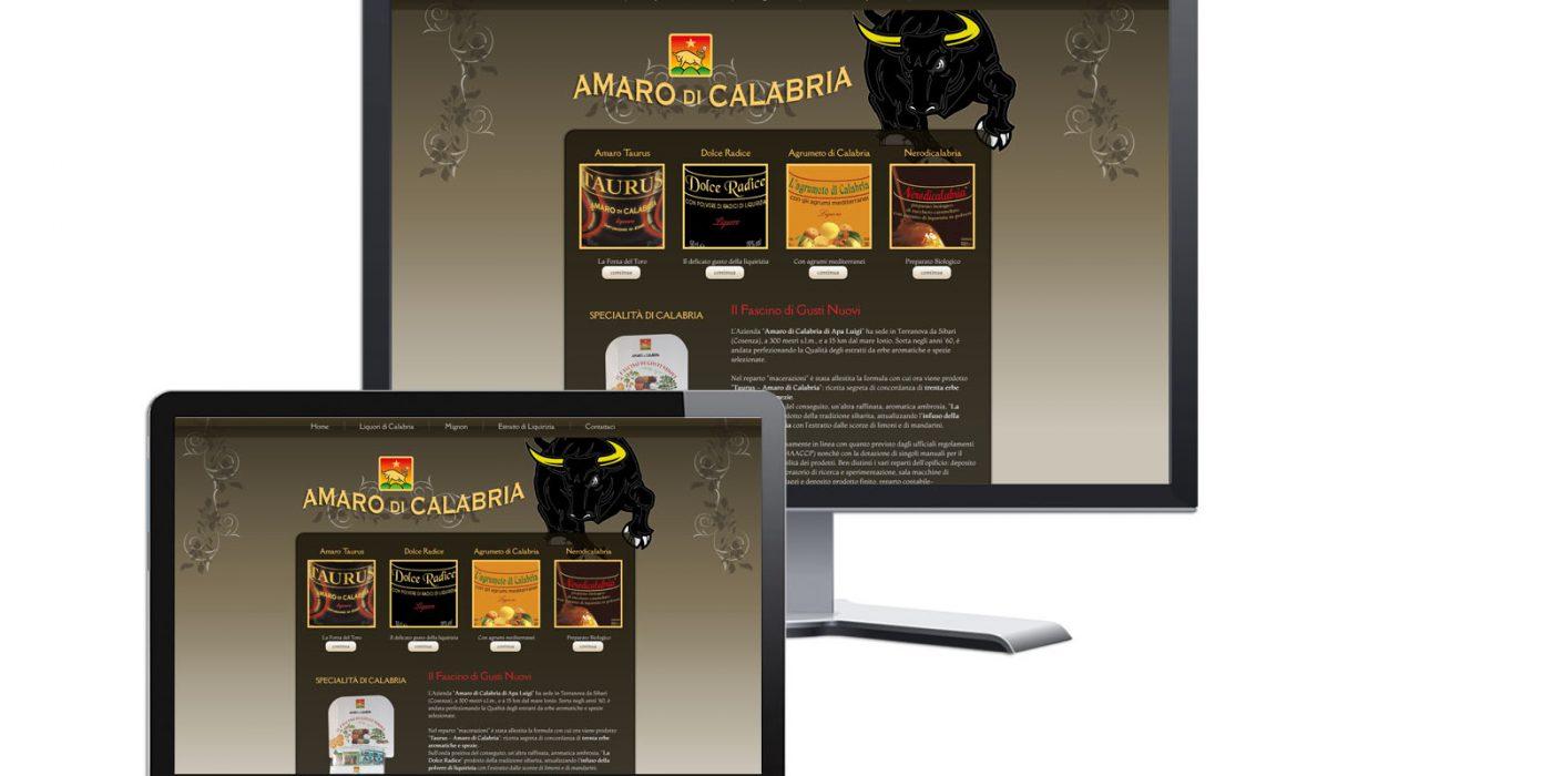 Realizzazione Sito Web Amaro di Calabria - Ydeando Grafica e Web