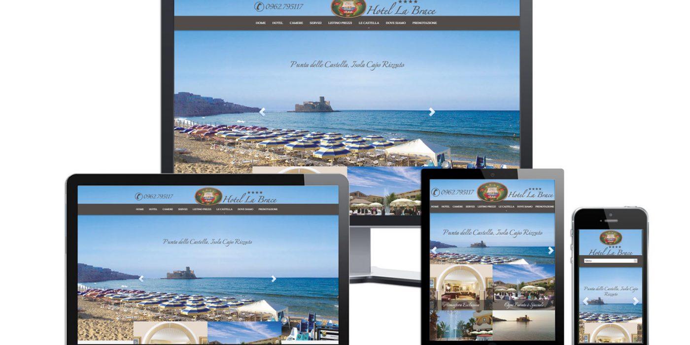 Realizzazione Sito Web Hotel La Brace