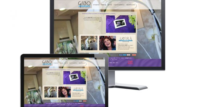 Realizzazione Sito Web Gibo Staff Parrucchieri Rimini